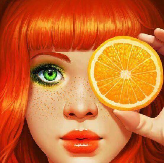 La magie des couleurs : la couleur Orange